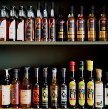 Just a few of our oils and vinegars from around the world!