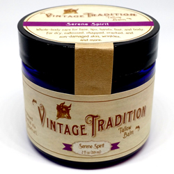 Serene Spirit Tallow Balm by Vintage Tradition