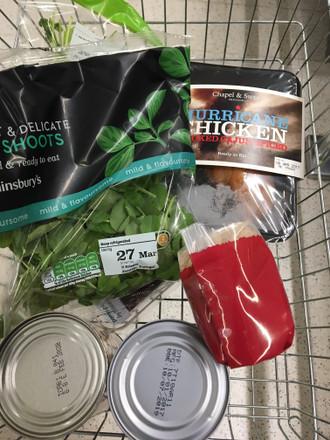 Hurrah! Hurricane Chicken steps into Sainsbury's chilled aisles!