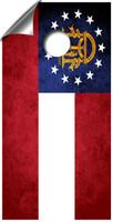 State flag cornhole board wraps