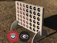 University of Georgia Four in a Row Game