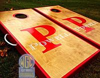 Letter And Name Custom Cornhole Boards
