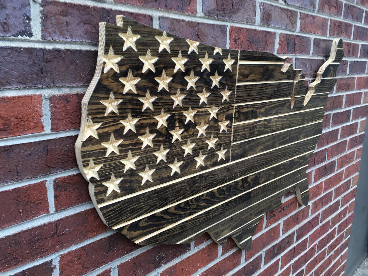 Dark Walnut USA Cut out