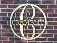 Circle Wooden Monogram Hanger