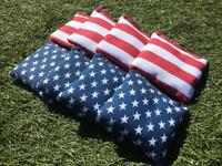 American Flag Cornhole Toss Bags
