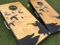 Duck Hunt Custom Cornhole Boards