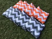 Chevron Pattern Cornhole Toss Bags