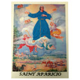 Saint Aparicio Laminated Prayer Card