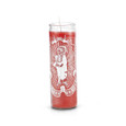 Indian 7 Day 1 Color Prayer Candle Red