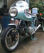 1974 Ducati 750SS Greenframe.