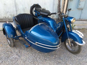 1952 ISO Scooter Sidecar