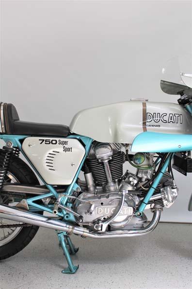 1974 Ducati 750 SS   Ducati Desmo 750 Supersport  Ducati Greenframe ...