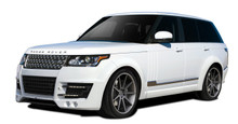2015 Land Rover Range Rover  Kit-2013-2015 Land Rover Range Rover AF-1 Complete Wide Body Kit ( GFK PUR-RIM ) - 27 Piece - Includes AF-1 Wide Body Fro