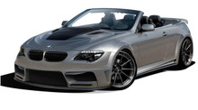 2007 BMW 6 Series 2DR Kit-2004-2010 BMW 6 Series E63 E64 2DR Convertible AF-2 Wide Body Complete Kit ( GFK ) - 11 Piece - Includes AF-2 Wide Body Fron