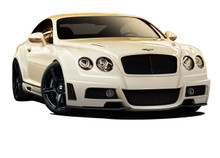 2006 Bentley Continental  Kit-2003-2010 Bentley Continental GT AF-1 Body Kit ( GFK ) - 5 Piece - Includes AF-1 Front Bumper Cover (109357) AF-1 Side S