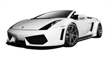 2008 Lamborghini Gallardo  Kit-2004-2008 Lamborghini Gallardo AF-1 Wide Body Kit ( GFK ) - 9 Piece - Includes AF-1 Wide Body Front Bumper Cover (10960