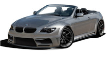 2009 BMW 6 Series 2DR Kit-2004-2010 BMW 6 Series E63 E64 2DR Convertible AF-2 Wide Body Complete Kit ( GFK ) - 9 Piece - Includes AF-2 Wide Body Front