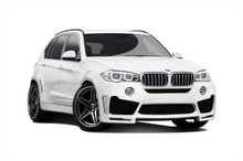 2015 BMW X5  Kit-2014-2015 BMW X5 F15 Carbon AF-1 Wide Body Kit ( GFK PUR-RIM ) - 12 Piece - Includes - Carbon AF-1 Wide Body Front Bumper Cover (1126