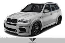 2011 BMW X5  Kit-2010-2013 BMW X5M E70 AF-1 Wide Body Complete Kit ( GFK ) - 10 Piece - Includes - AF-1 Wide Body Front Bumper Cover (108739) AF-1 Wid