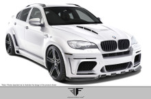 2010 BMW X6  Kit-2008-2014 BMW X6 E71 AF-5 Wide Body Complete Kit ( GFK ) - 16 Piece - Includes AF-5 Wide Body Front Bumper Cover (108718) AF-5 Wide B
