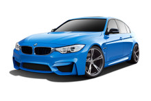 2013 BMW 3 Series  Kit-2012-2018 BMW 3 Series F30 Couture Duraflex M3 Look Body Kit - 12 Piece - Includes M3 Look Front Bumper Cover (112502), M3 Look