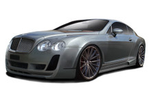 2007 Bentley Continental  Kit-2003-2010 Bentley Continental GT GTC AF-2 Complete Kit ( GFK ) - 5 Piece - Includes AF-2 Front Bumper (113187) AF-2 Fron