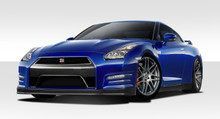 2010 Nissan GTR  Kit-2009-2016 Nissan GT-R R35 Duraflex OEM Facelift Conversion - 6 Piece - Includes OEM Facelift Conversion Front Bumper Cover (11211