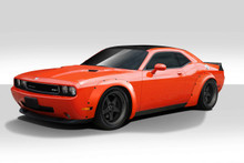 2011 Dodge Challenger  Kit-2008-2018 Dodge Challenger Duraflex Novara Wide Body Kit - 7 Piece - Includes Novara Wide Body Front Fender Flares (112459)