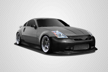 2008 Nissan 350Z  Kit-2003-2008 Nissan 350Z Z33 Carbon Creations C-2 Body Kit - 4 Piece - Includes C-2 Front Bumper Cover (102799) N-1 Rear Add On Bum
