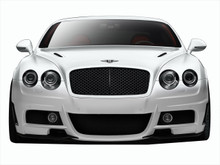 2008 Bentley Continental  Front Bumper-2003-2010 Bentley Continental GT GTC AF-1 Front Bumper Cover ( GFK ) - 1 Piece