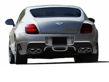 2007 Bentley Continental  Rear Bumper-2003-2010 Bentley Continental GT GTC AF-1 Rear Bumper Cover ( GFK ) - 1 Piece