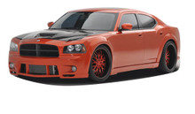 2007 Dodge Charger  Kit-2006-2010 Dodge Charger Couture Luxe Wide Body Kit - 10 Piece - Includes Couture Luxe Wide Body Front Bumper Cover (104812) Co