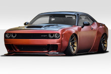 2011 Dodge Challenger  Kit-2008-2018 Dodge Challenger Duraflex Circuit Kit - 8 Piece - Includes Circuit Front Fenders (113899) Circuit Rear Fenders (1