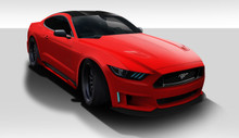 2017 Ford Mustang  Kit-2015-2017 Ford Mustang Duraflex Grid Body Kit - 5 Piece - Includes Grid Front Bumper (112563), Grid Rear Bumper (112564), Grid