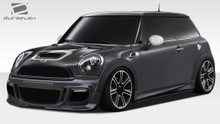 2007 MINI Cooper  Kit-2007-2013 Mini Cooper Hardtop / 09-15 Convertible / 12-15 Coupe / 12-15 Roadster Duraflex DL-R Body Kit - 6 Piece - Includes DL-