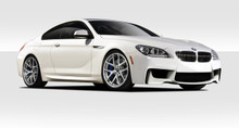 2015 BMW 6 Series  Kit-2011-2018 BMW 6 Series F12 F13 Duraflex 1M Look Body Kit - 4 Piece - Includes 1M Look Front Bumper Cover (109310) M Sport Look