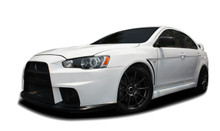 2016 Mitsubishi Lancer 4DR Kit-2008-2017 Mitsubishi Lancer Duraflex Evo X Look Body Kit - 13 Piece - Includes Evo X Look Front Bumper Cover (106953) E