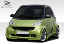2009 Smart ForTwo  Kit-2008-2016 Smart ForTwo Duraflex GT300 Wide Body Kit - 11 Piece - Includes GT300 Wide Body Front Lip Under Spoiler Air Dam (1078