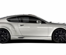 2008 Bentley Continental  Sideskirts-2003-2010 Bentley Continental GT GTC AF-1 Side Skirt Rocker Panels ( GFK ) - 2 Piece