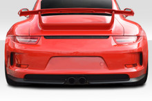2013 Porsche 991  Rear Bumper-2012-2015 Porsche 911 Carrera 991 Eros GT3 Look Rear Bumper ( includes reflectors ) - 2 Piece