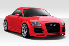 2003 Audi TT  Kit-2000-2006 Audi TT Duraflex R8 Look Body Kit - 4 Piece - Includes R8 Look Front Bumper (112882) R8 Look Side Skirts (112883) R8 Look