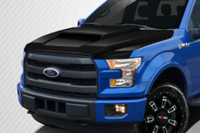 2016 Ford F150  Hood-2015-2018 Ford F-150 Carbon Creations Grid Hood - 1 Piece