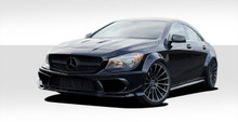 2014 Mercedes CLA  Kit-2014-2015 Mercedes CLA Class Duraflex Black Series Look Wide Body Kit - 16 Piece - Includes Black Series Look Wide Body Front B