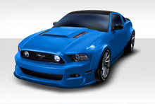 2013 Ford Mustang 2DR Kit-2010-2014 Ford Mustang Duraflex Circuit Wide Body Kit - 4 Piece - Includes Circuit 75 MM Front Fender Flares (112623) Circui