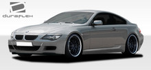 2005 BMW 6 Series  Kit-2004-2010 BMW 6 Series E63 E64 Duraflex M6 Look Body Kit - 4 Piece - Includes M6 Look Front Bumper Cover (107702) M6 Look Side