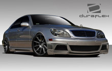 2002 Mercedes S Class  Kit-2000-2002 Mercedes S Class W220 Duraflex W-3 Body Kit ( long wheelbase models only) - 4 Piece - Includes W-3 Front Bumper C
