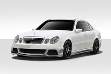 2007 Mercedes E Class 4DR Kit-2007-2009 Mercedes E Class W211 4DR Duraflex W-1 Body Kit - 4 Piece - Includes W-1 Front Bumper Cover (108816) W-1 Side