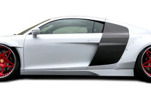 2014 Audi R8  Sideskirts-2008-2015 Audi R8 AF Signature Series Side Skirts ( GFK ) - 2 Piece