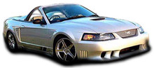 2004 Ford Mustang  Kit-1999-2004 Ford Mustang Couture Colt Body Kit - 5 Piece - Includes Colt Front Bumper Cover - Polyurethane (104403) Colt Rear Bum