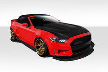 2017 Ford Mustang  Kit-2015-2017 Ford Mustang Duraflex Grid Wide Body Kit - 8 Piece - Includes Grid Front Fender Flares (112566), Grid Rear Fender Fla